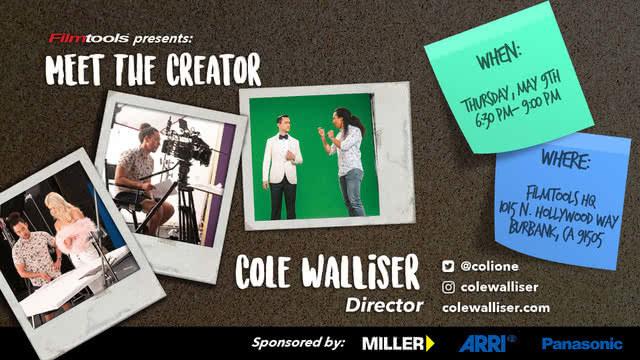 Filmtools   Meet the Creator   9th May