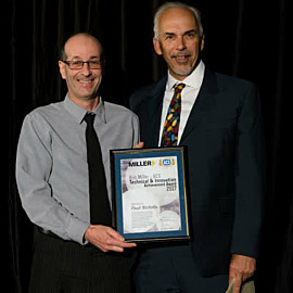 ACS Paul Nichola with Bob Miller Technical & Innovation Achievement Award