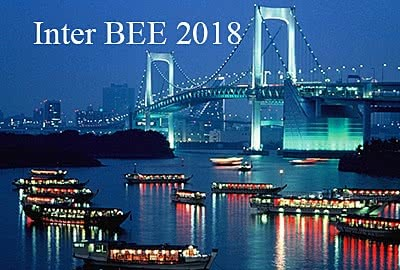 Inter BEE | 14-16  November 2018 | Tokyo