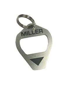 Miller Classic Bottle Opener/Camera Plate Screw Tightener