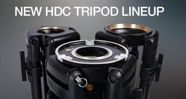 Miller Cine HDC Tripod Range