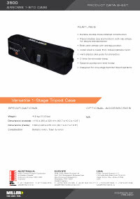 3500 Arrowx Softcase 1 Stage