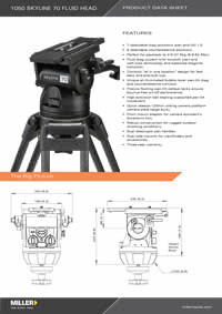 Skyline 70 Series Product Data Sheet