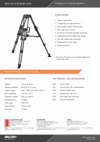 925 HD 2-stage Product Data Sheet