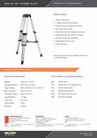 943 HD 150 1-stage Product Data Sheet