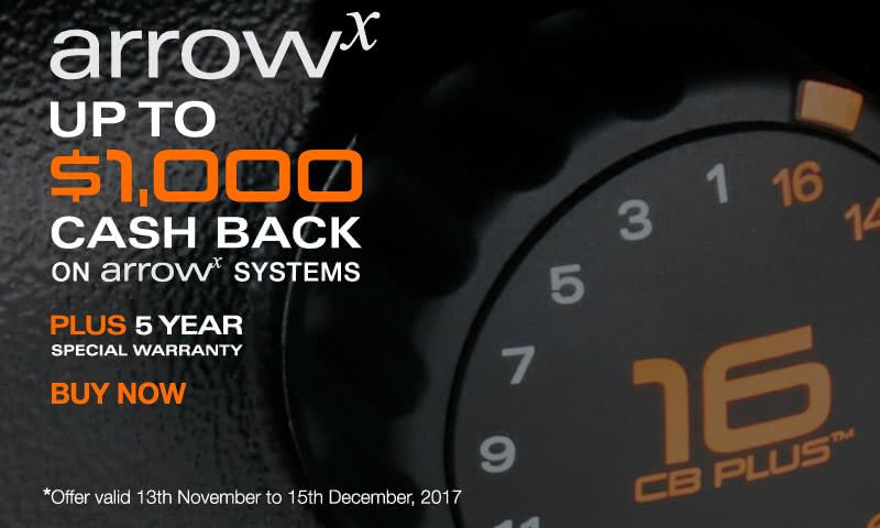 ArrowX Cash Back Promotion